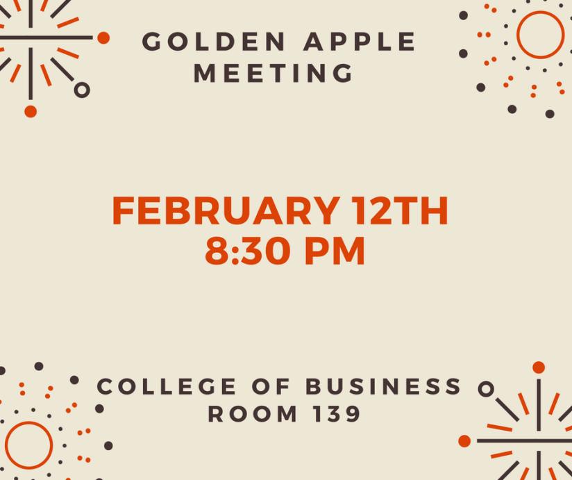Golden Apple Meeting 2