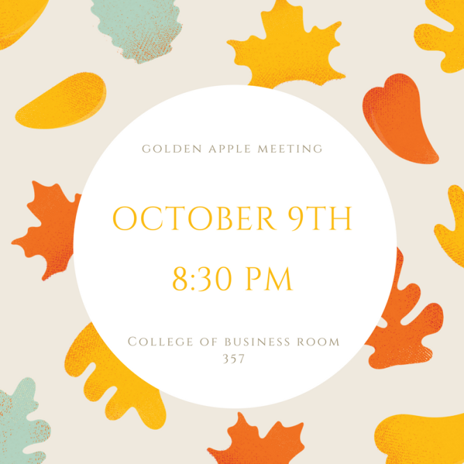 October Meeting